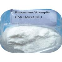 Quality Acomplia / Rimonabant Weight Loss Steroids CAS 168273-06-1 For Body Slimming wholesale