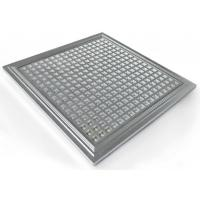 Best IP65 Hydroponic Dimmable LED Grow Lights PPMA Cover , 300*300*10mm wholesale