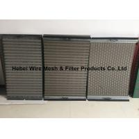 Best Light Weight Shale Shaker Mesh Screen , Flat / Pinnacle Shaker Screens Manufacturers wholesale