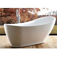 Best 5 Foot Ultra Acrylic Free Standing Bathtub Antique Style 1800 X 850 X 790MM wholesale
