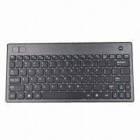 Buy cheap Wireless Keyboard with Trackball Mouse, Mini Keyboard, RF and Bluetooth Keyboard from wholesalers