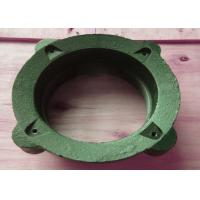 China 2.5 Cornice Drain Cast Iron Drainage Fittings Sand Casting Anti Rust on sale