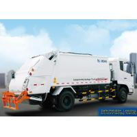 Best Self Compress Special Purpose Vehicles Rear Loader Garbage Truck wholesale