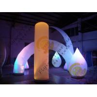 Cheap Advertising Inflatable Arch Balloon Led Lighting For Festival Decoration for sale