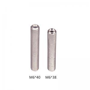 Best Screw Thread Stainless Steel M6 3D Printer Throat Length 38mm 35mm wholesale