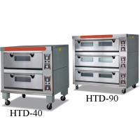 Best Bakeries Commercial Electric Gas Deck Oven With Steam / 2 - 9 Trays wholesale