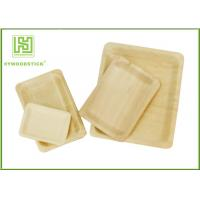 Best Customized Printed Disposable Wooden Plates Wooden Serving Trays For Hotel wholesale