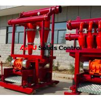 Cheap Oil well drilling fluid solids control  desander separator at Aipu solids for sale