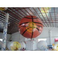 Best Fire Proof Sporting Inflatable Basketball Giant EN71 With Helium wholesale