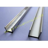 Quality Stainless Steel / Aluminum U Channel , Cold Roll Formed Metal C Channel wholesale