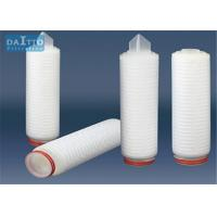 Best Efficient Polypropylene Pleated Filter Cartridge Wide Chemical Compatibility HPPES-XSeries wholesale