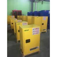 Best Laboratory Paint Storage Flammable Safety Cabinets For Oil Station , Long Life wholesale