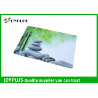 Best Full Color Print Beautiful Table Mats , Bright Coloured Placemats HKP0110-21 wholesale