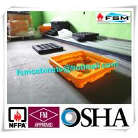 Best Drum Spill Containment Pallets , Pallet Containment Tray For Spilled Fluids wholesale