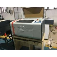 China 50 W Power Leather / Mini Laser Engraving Machine With Ruida System on sale