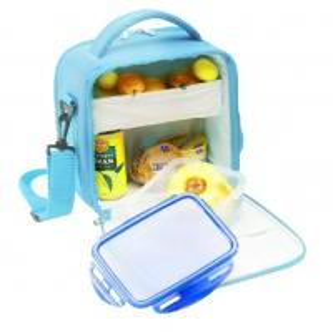 Best Picnic Cooler Childrens Lunch Bags Sky Blue Color 600D Nylon wholesale