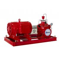 Best UL Listed Split Case Centrifugal Pump Motor Driven Fire Pump For Pipelines Bureaus wholesale