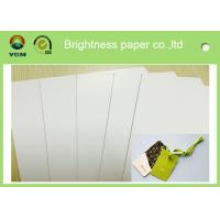 Best Two Side Printed A0 Card Sheets , C2S Glossy Strong Cardboard Sheets For Art wholesale