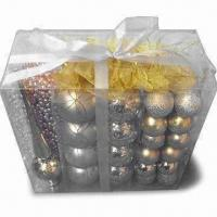 Best Christmas Spheres in Frosted or Shiny Finish, Customized Designs are Welcome wholesale