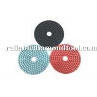 Best Diamond Grit Polishing Pads ISO TUV 4 Inch Buffing Pads Working With Water wholesale