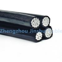 Best 10kv 16 Sq Mm Black Electrical Aerial Bundle Cable Outdoor Round Wire wholesale