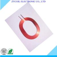Best Red Self Bond Rfid Reader Coil Antenna , Multilayer Air Core Inductor Coil wholesale