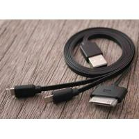 Best Sync Micro 3 in 1 SAMSUNG USB Charger Cable , Black 20cm - 50cm Data Transfer Cable wholesale