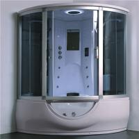 Best Luxury Steam Shower Bathtub Combo With Spa Tub , Home Steam Shower Units wholesale