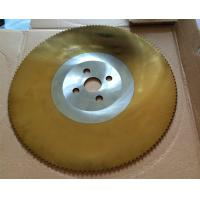 TiN coating HSS circular knife, saw blade for cold cutting of tube and pipe