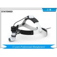 China 3W Rechargeable Double Battery Medical Headlamp ENT Headlight Dental Headlight on sale