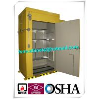 Best Hazardous Waste Storage Buildings Chemical Locker For Gas Cylinder / Oil Drum wholesale