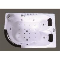 Cheap Customized Modern Corner Whirlpool Bathtub Freestanding Spa Tub Computer Control for sale