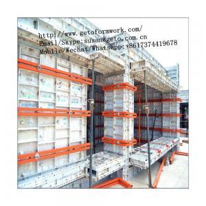 China High Grade Concrete Metal Panel Climbing Frame Formwork System/Formwork Shuttering Beam/Aluminium Formwork System on sale