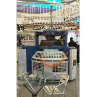 Buy cheap Slight Noise Double Jersey Fabric Knitting Machine 2100mmx2100mmx1900mm from wholesalers