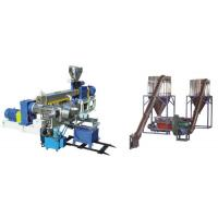 Cheap PVC Polyethylene Extruder Machine , Plastic Pelletizing Equipment For Wires for sale