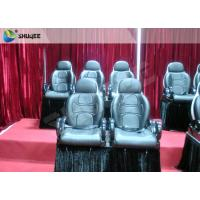 Best Red Color Electronic System 5D Cinema Equipment Motion Seat With Special Effect wholesale