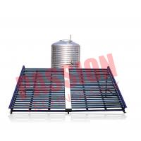 Best Horizontal Type Solar Vacuum Tube Collector , Solar Hot Water Collector 500L wholesale