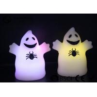 Best Cute Ghost Shaped Halloween Led Candles Paraffin Wax Material HL-009 wholesale