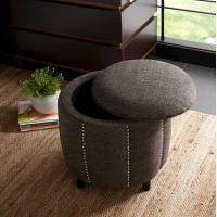 Best french style upholstered ottoman fabric ottomans upholstery ottoman storage with wheels wholesale
