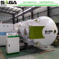 Best Small High Frequency Vacuum Wood Drying Machine 13CBM From SAGA wholesale