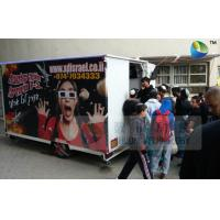 Best Amazing Mobile Truck 5D Cinema With 6 Seats And Special Effects Inside wholesale