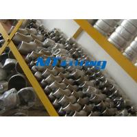 China ASME / ANSI B16.9 SAF2205 / 2507 400LB Flanges Pipe Fittings , Duplex Steel Cap Pipe Fitting on sale