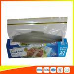 Quality Snap Seal Reusable Sandwich Bags For Coles Supermarket Large Size 35*27cm wholesale