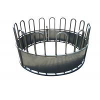 Buy cheap Round Bale Hay Feeder withloop Top for Livestock Farm 1.5X2Meter With Diameter 1350MM from wholesalers