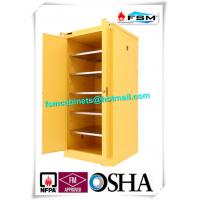 Safety Chemical Storage Cabinets Multilayer With Ventilation Hole For Dangerous Goods