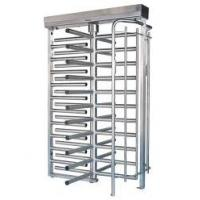 Semi Automatic Entrance Security Gates , 30 Person / Min Speed Full Height Turnstile