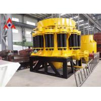 Buy cheap Road construction equipment Mining production plant Mining Industry Limestone Spring Cone crusher with large capacity from wholesalers