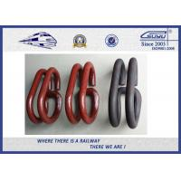 Cheap Deenik Elastic Rail Clips Track Clamp Oxide Black 60Si2Mn for Railway System wholesale