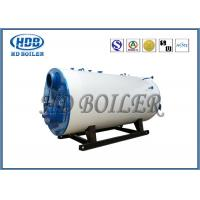 Best Industrial Steam Hot Water Boiler Oil / Gas Multi Fuel Horizontal Fully Automatic wholesale