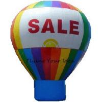 Best 6m Railbow Inflatable Advertising Balloon OEM For Outdoor Show Event wholesale